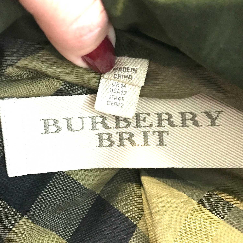 Parca Burberry Brit Verde