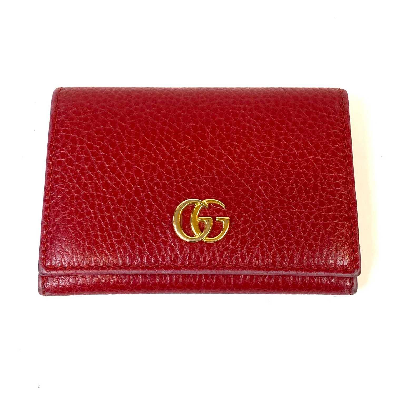 Porta Cartão Gucci Vermelho