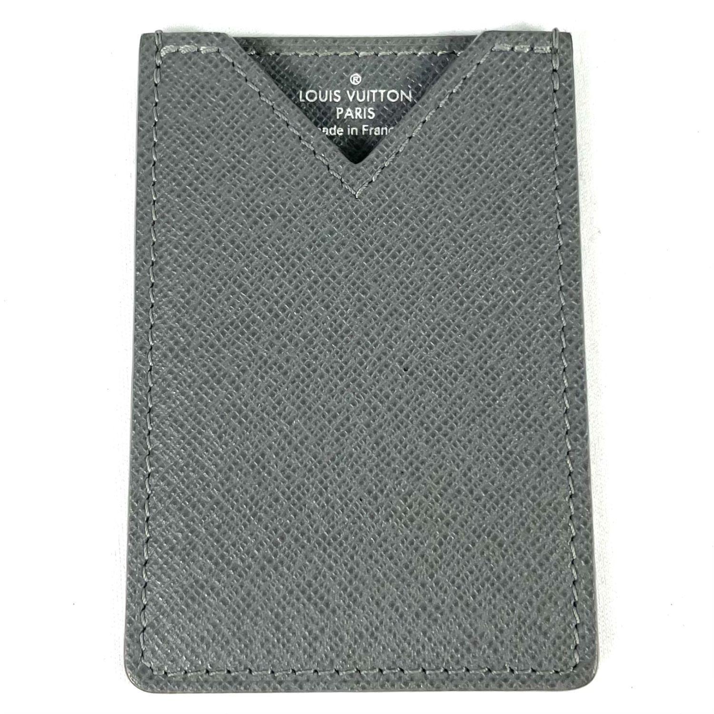 Porta Cartão Louis Vuitton Cinza