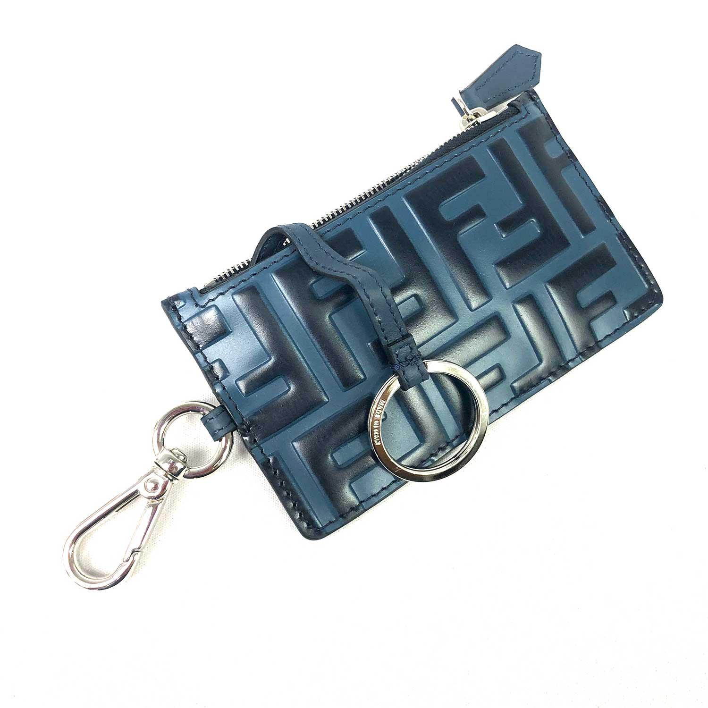 Porta Cartões Fendi Azul