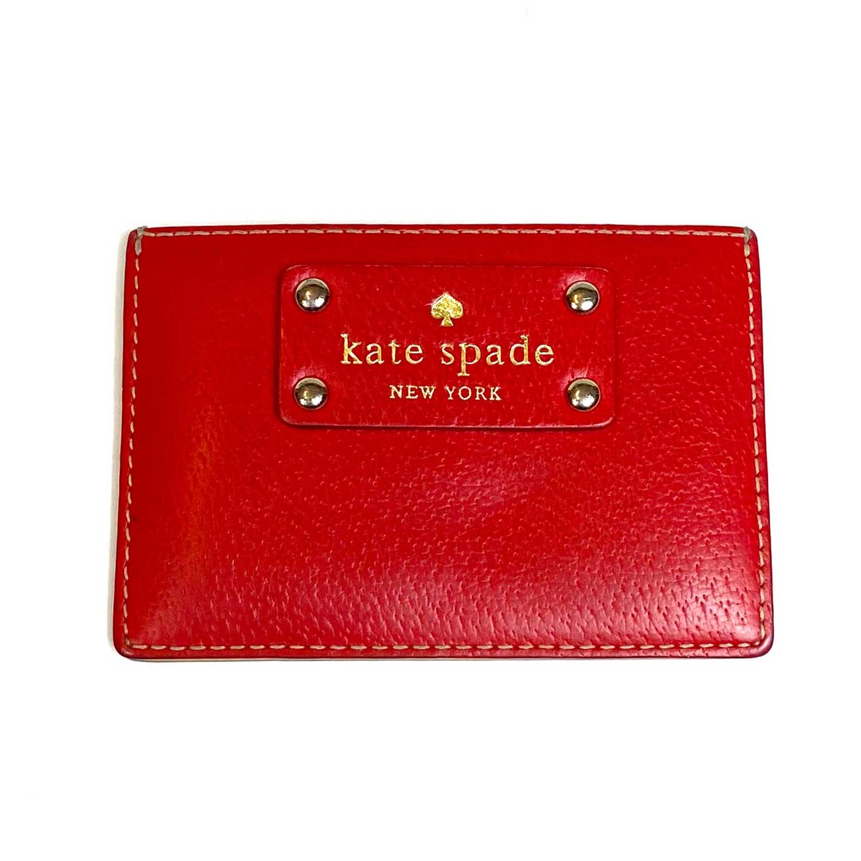 Porta Cartões Kate Spade Vermelho
