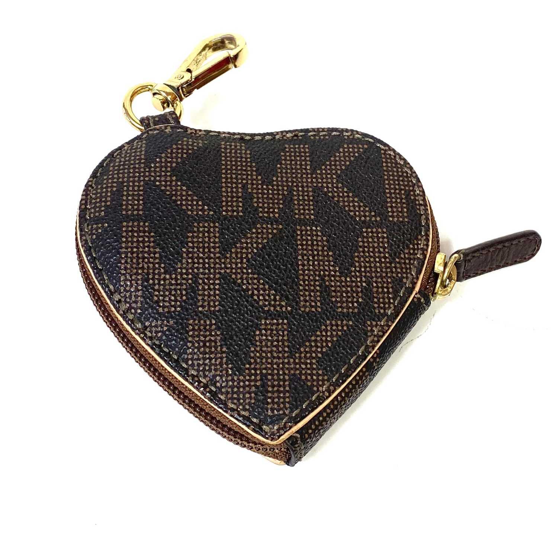 Porta Moedas Michael Kors Coração Monograma