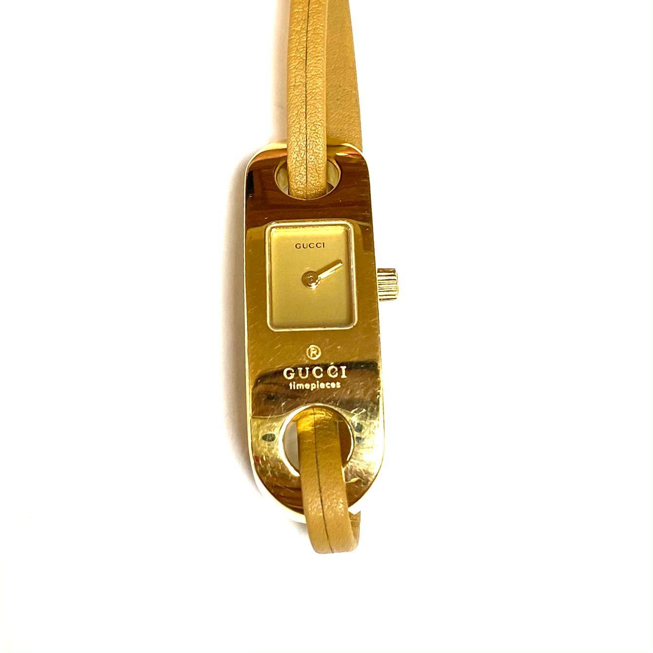 Relógio Gucci 6100L Dourado