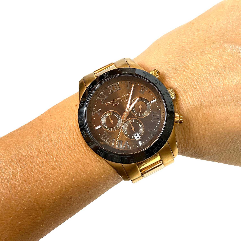 Relógio Michael Kors Rose e Preto MK8247