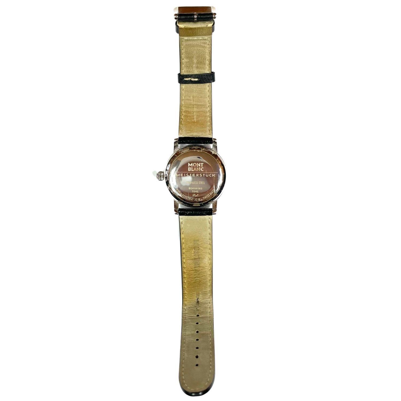 Relógio Mont Blanc Meisterstuck 7042 Prateado