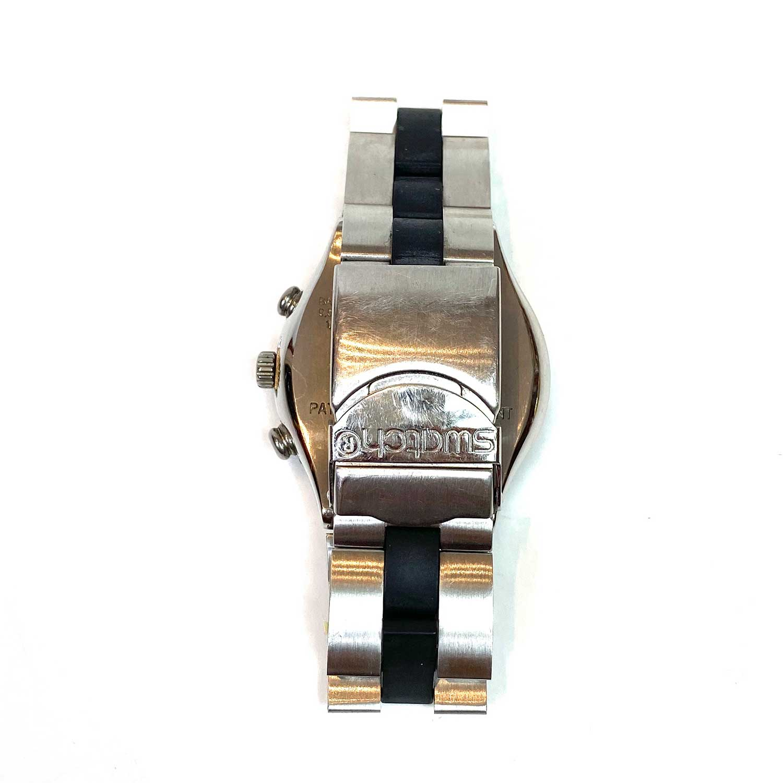 Relógio Swatch Prata e Preto