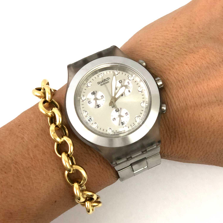 Relógio Swatch Prateado