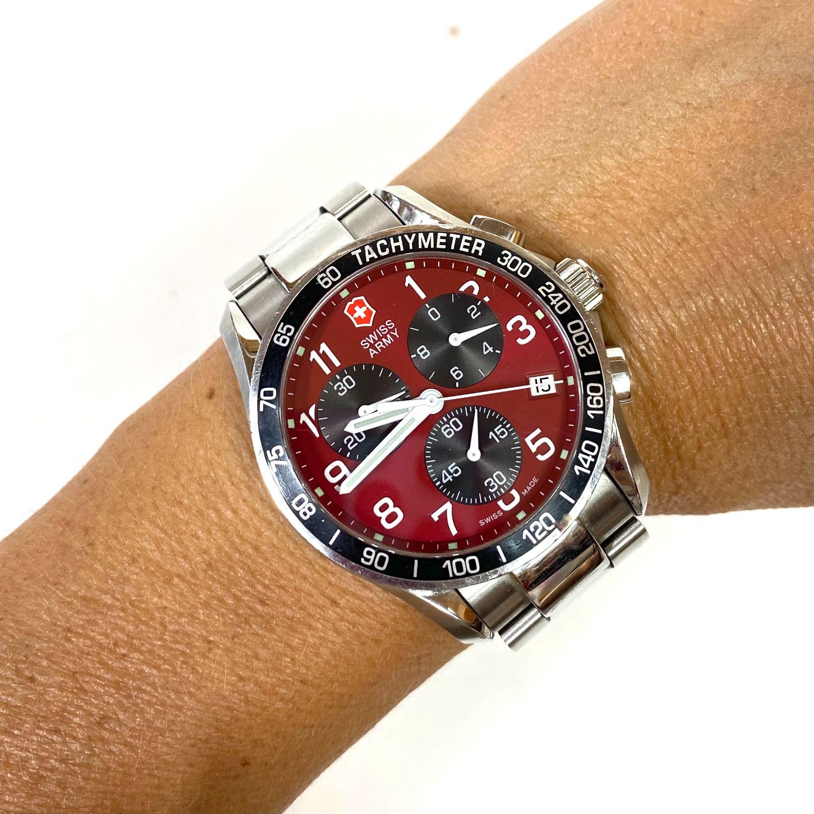 Relógio Swiss Army Prateado