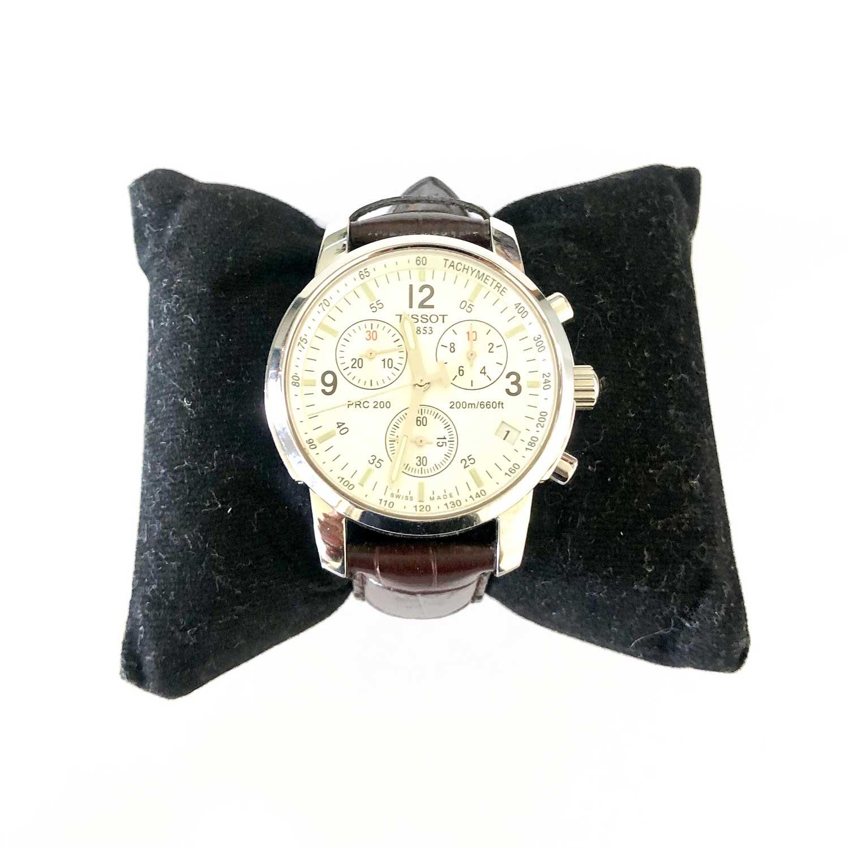 Relógio Tissot Pulseira Marrom