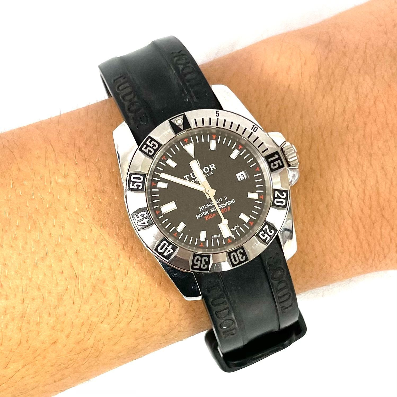 Relógio Tudor Hydronaut II Prateado