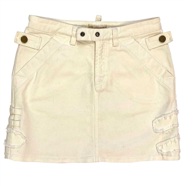 Saia Blumarine Jeans Offwhite