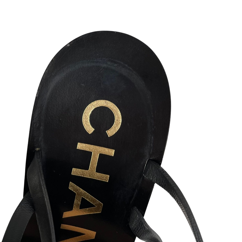 Sandália Chanel Anabela