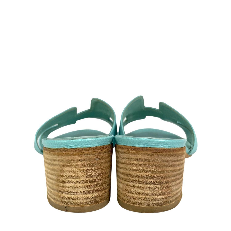 Sandália Hermès Oasis Couro