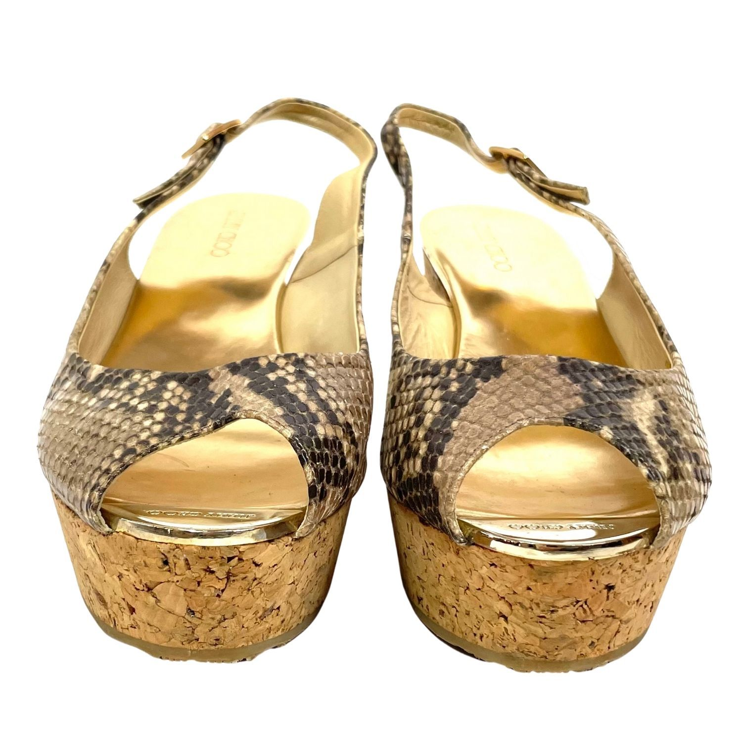 Sandália Jimmy Choo Animal Print