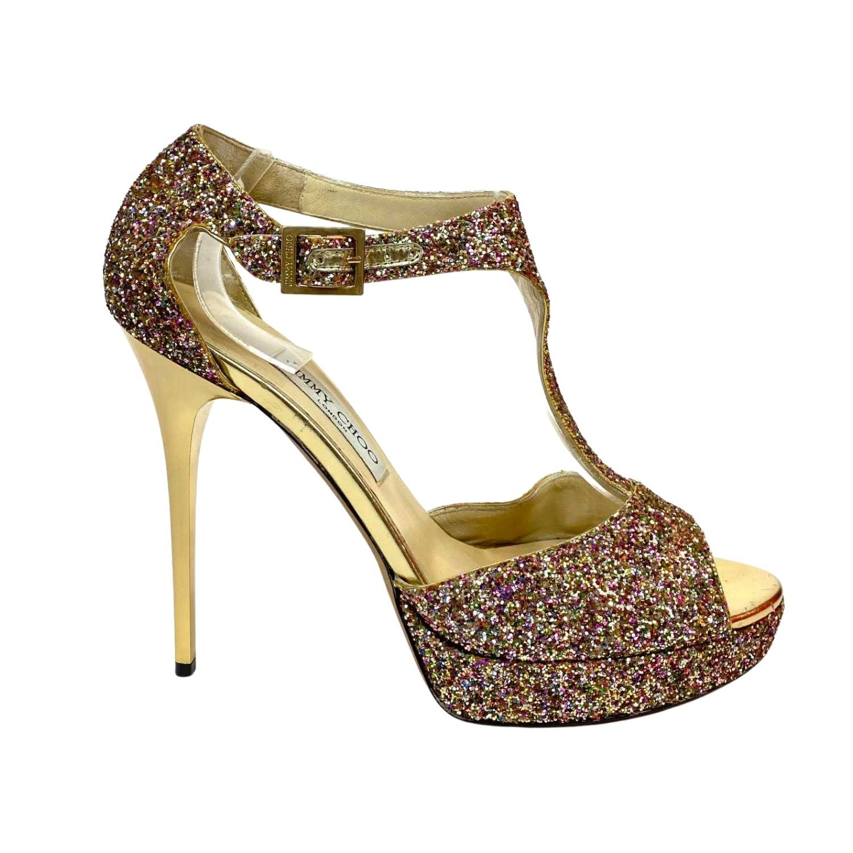 Sandália Jimmy Choo Lana Color Glitter