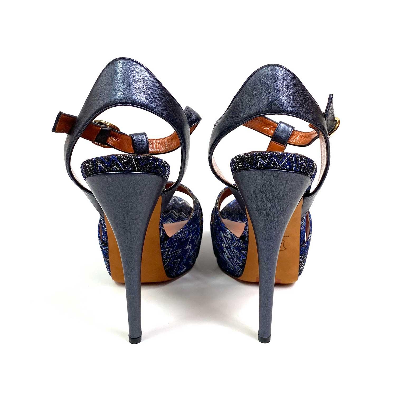 Sandália Missoni Azul