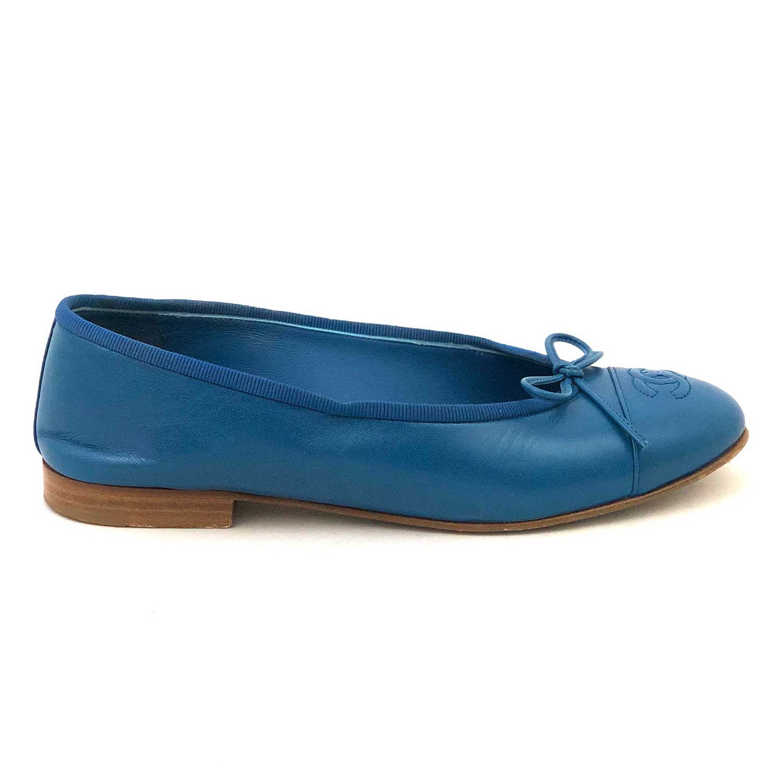 Sapatilha Chanel Azul