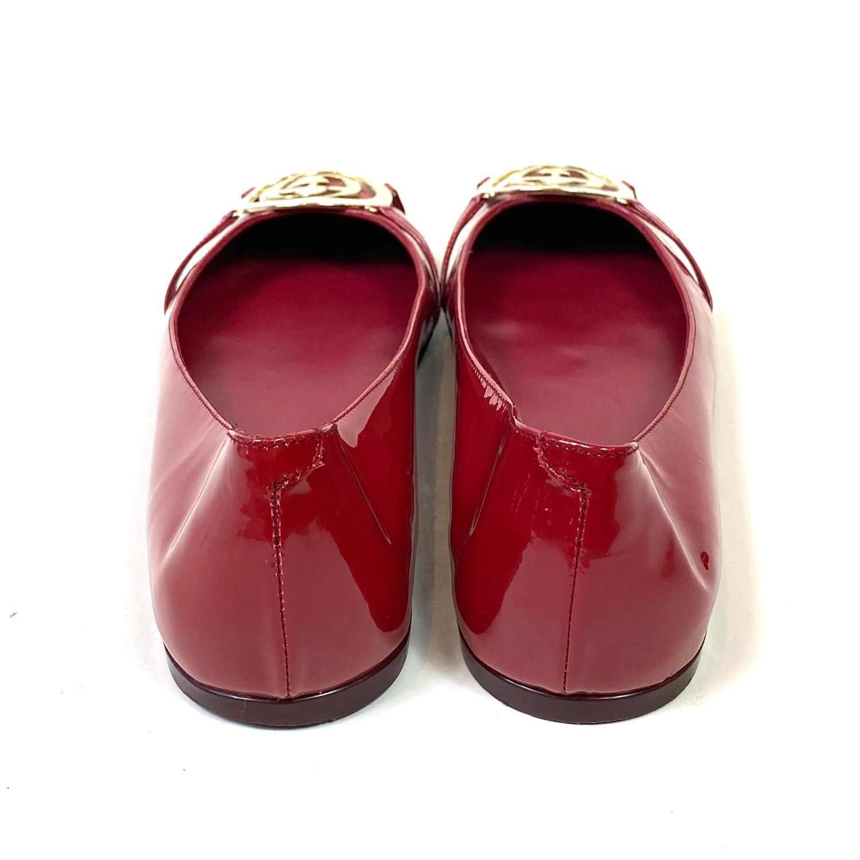Sapatilha Gucci Verniz Vermelha