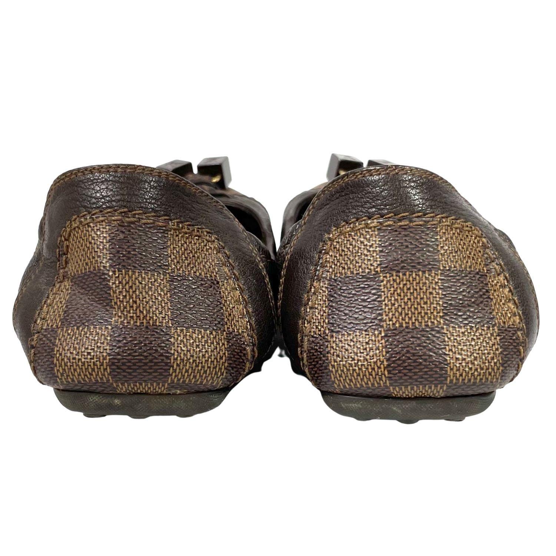 Mocassim Louis Vuitton Damier Ebene