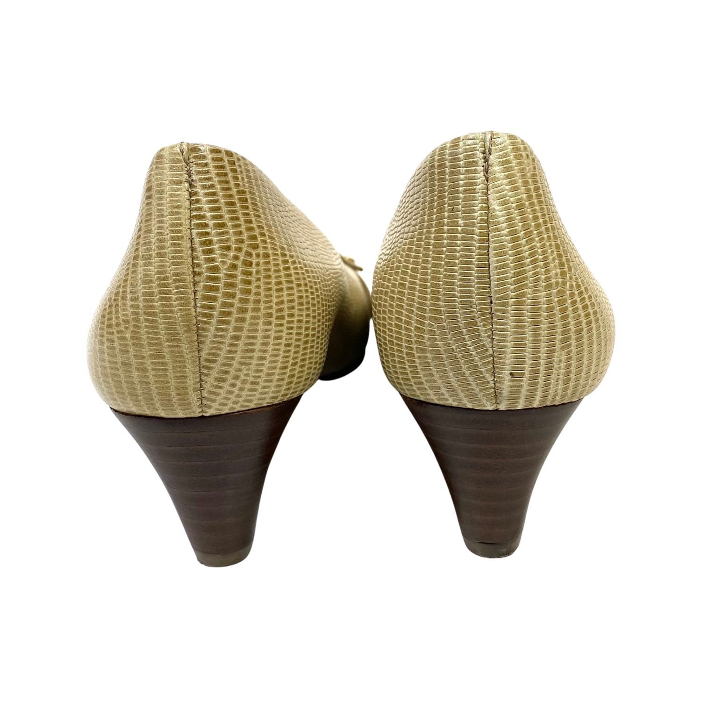 Sapato Anabela Tory Burch Beige