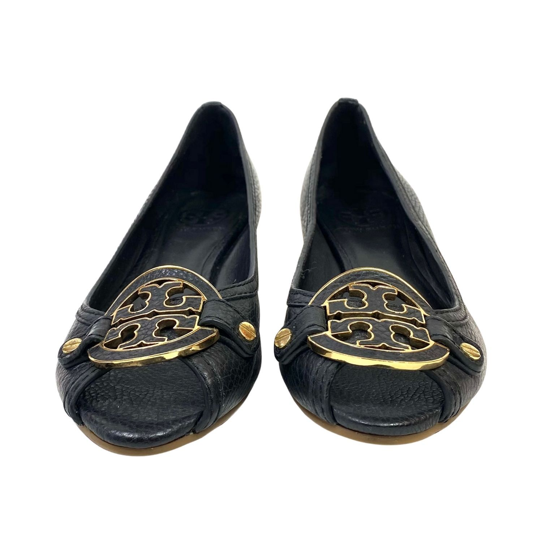 Sapato Anabela Tory Burch Preto