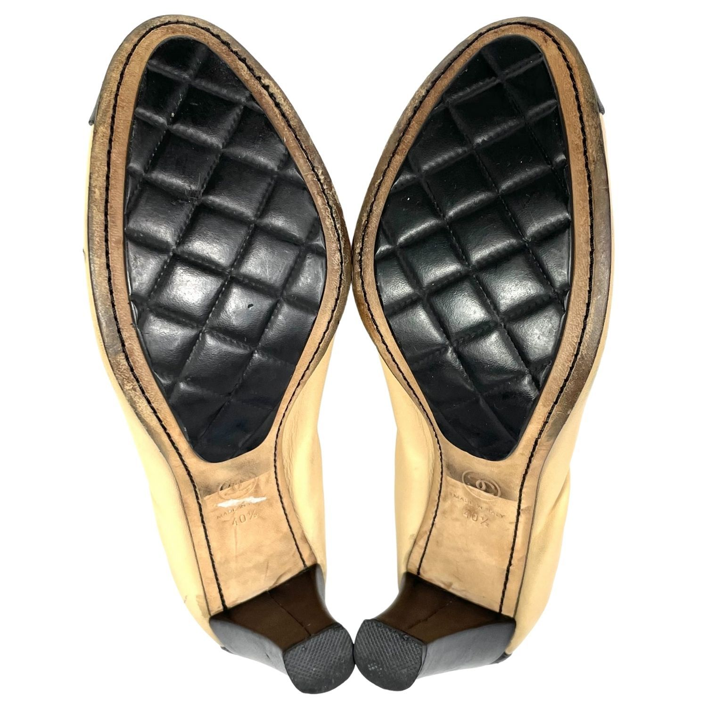 Sapato Chanel Spirit CC Logo