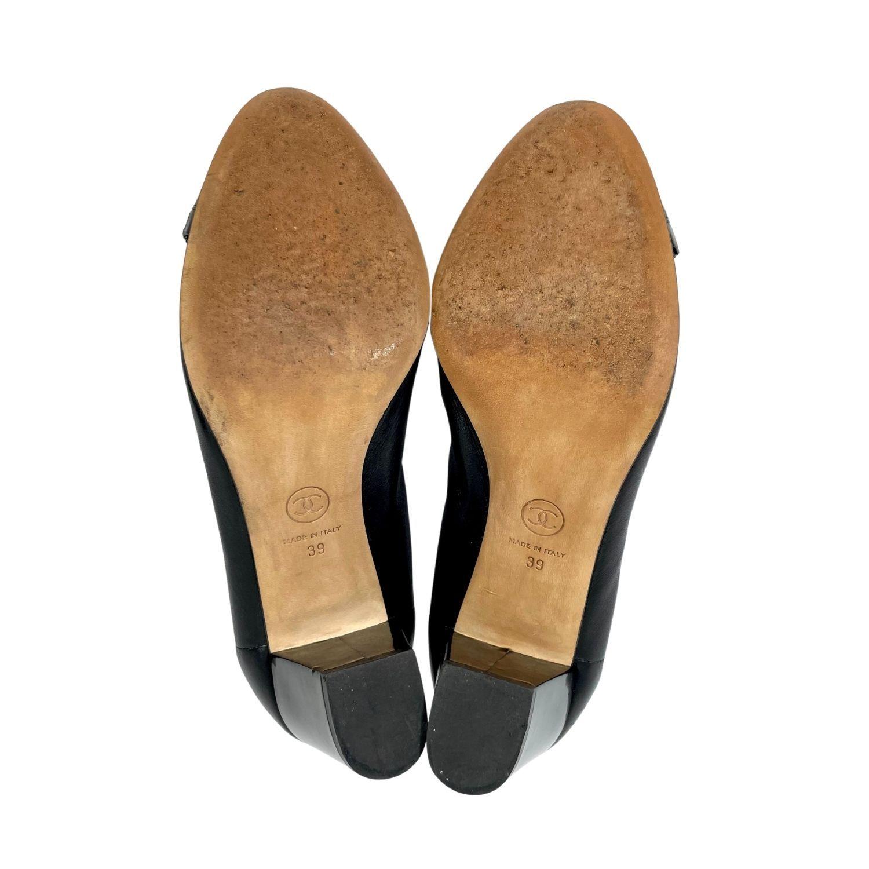Sapato Chanel Stretch Spirit CC Preto