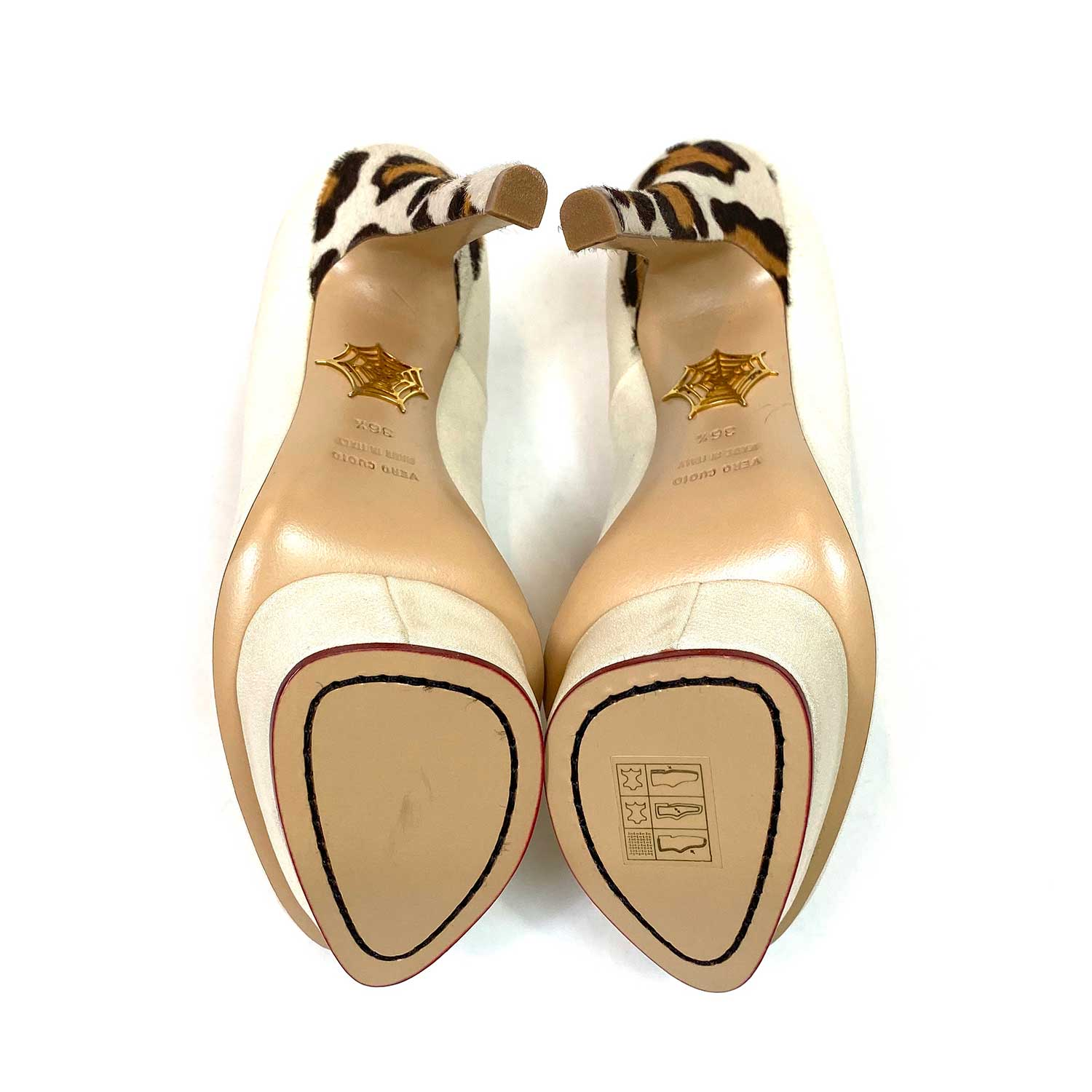 Sapato Charlotte Olympia Dolly Offwhite