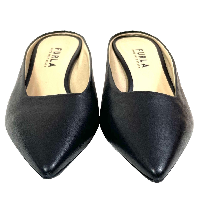 Sapato Furla Mule Preto