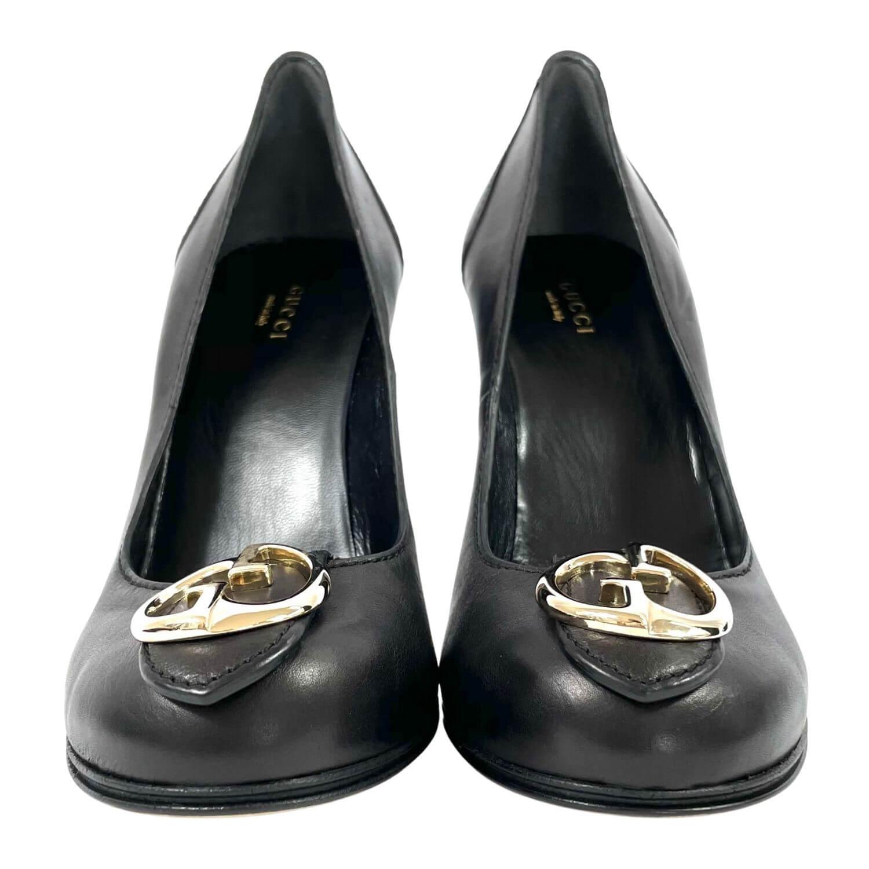 Sapato Gucci GG Preto