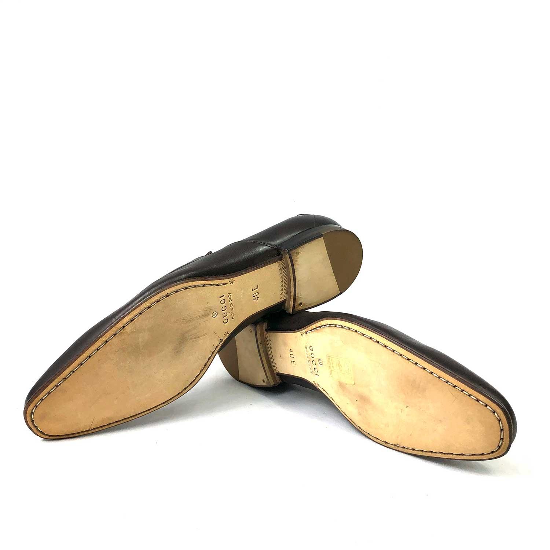 Sapato Gucci Marrom