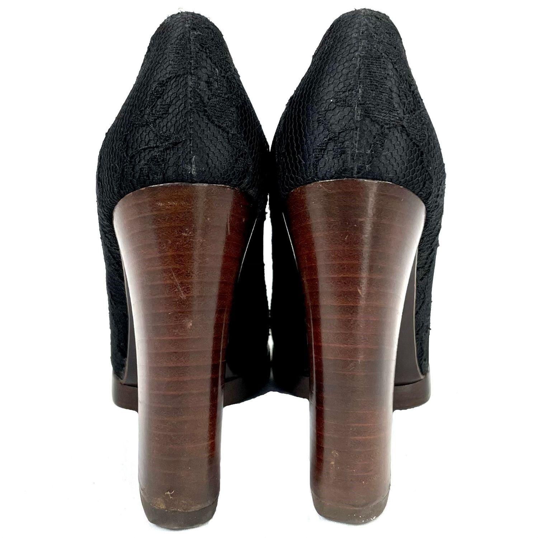 Sapato Gucci Renda Preto