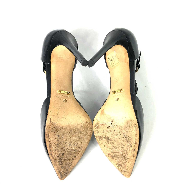 Sapato Gucci Verniz Preto
