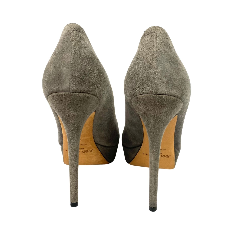 Sapato Jimmy Choo Cinza
