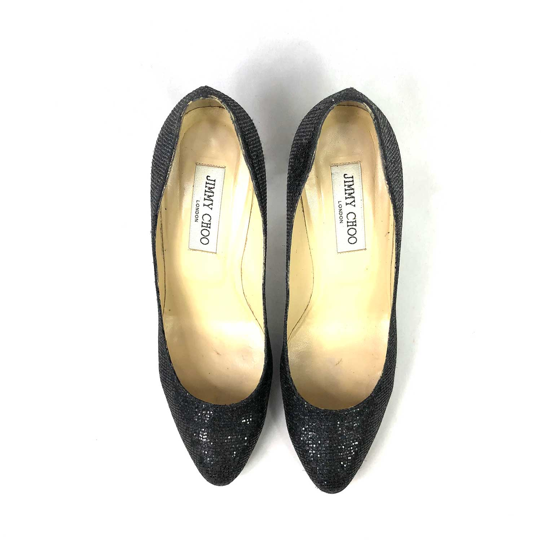 Sapato Jimmy Choo Glitter Preto