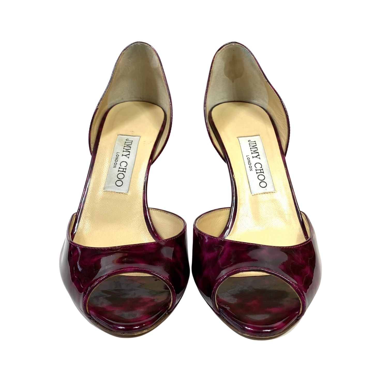 Sapato Jimmy Choo Mesclado Vinho