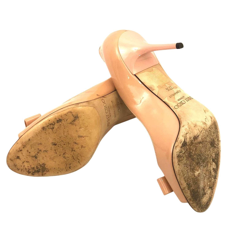 Sapato Jimmy Choo Nude Laço