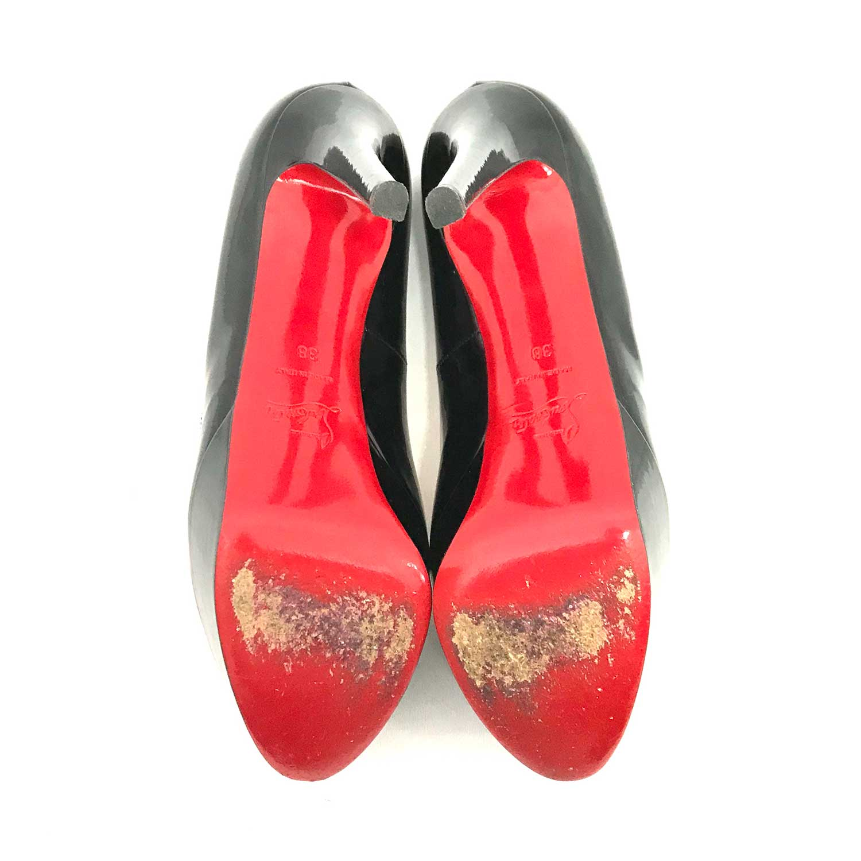 Sapato Louboutin Bianca 120 Preto