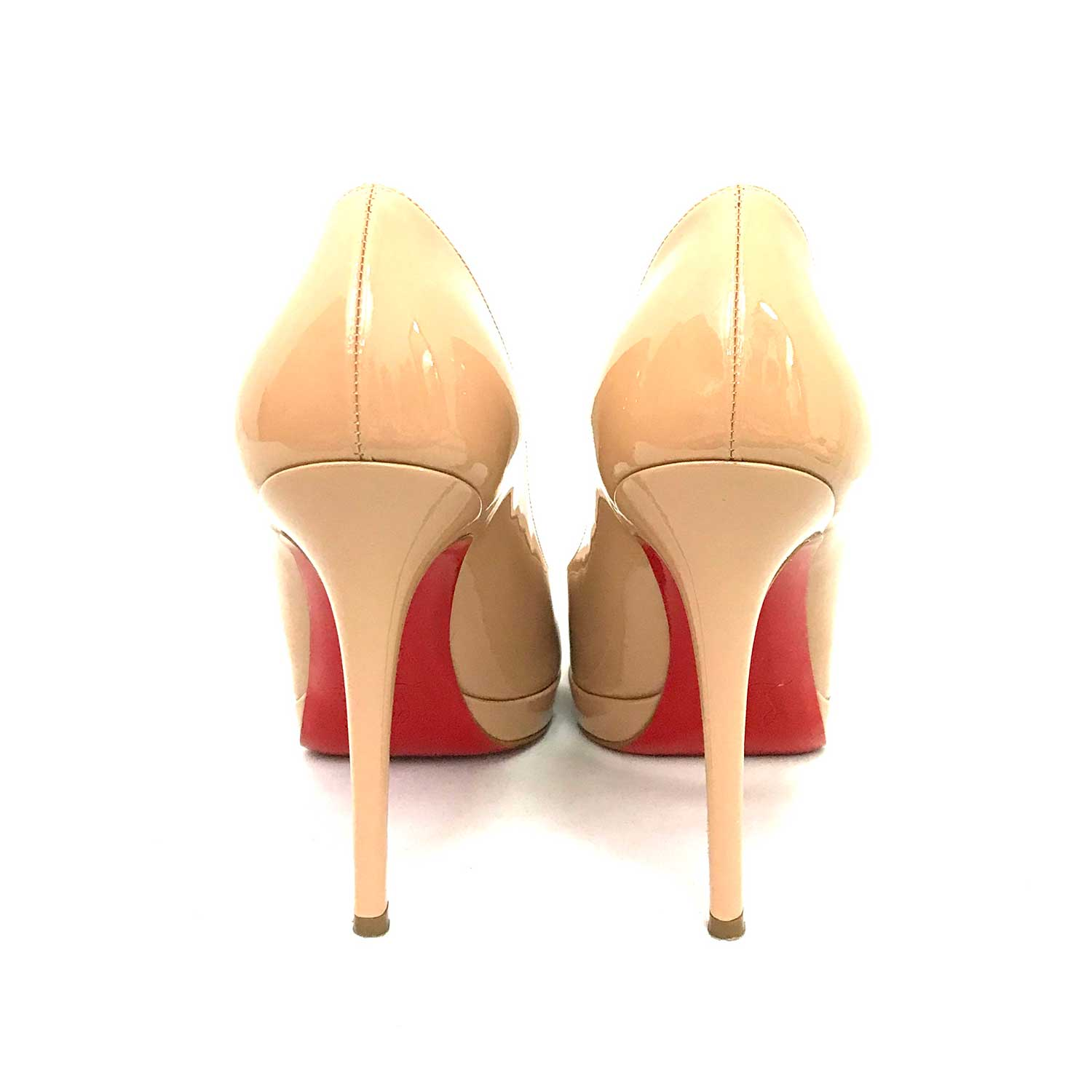 Sapato Louboutin New Simple Pump 120 Nude