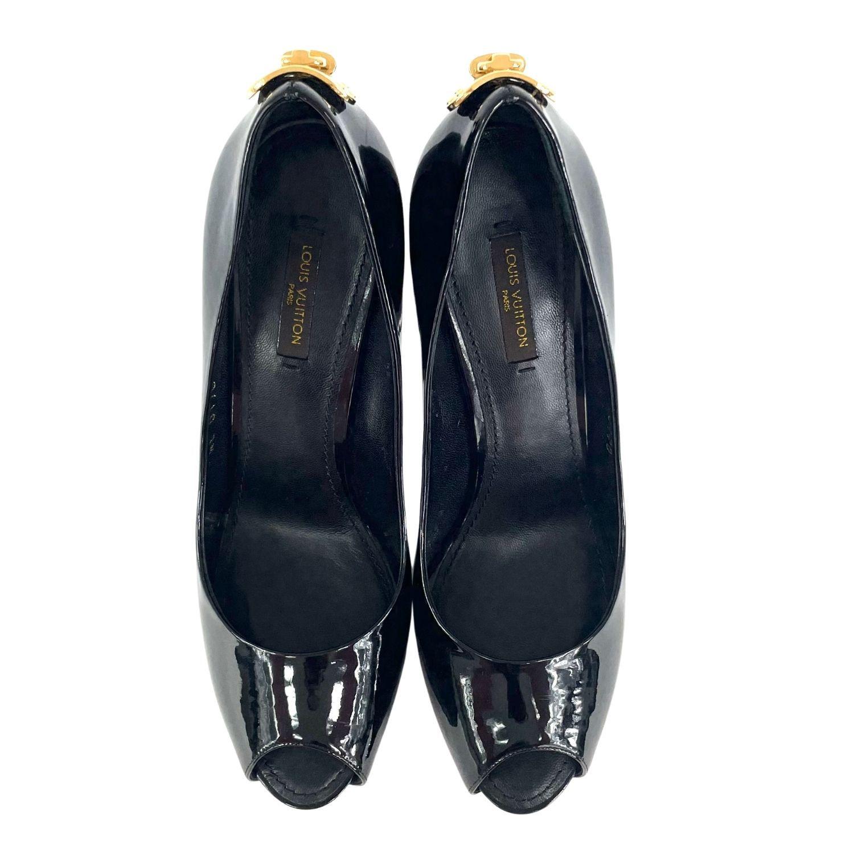 Sapato Louis Vuitton Peep Toe