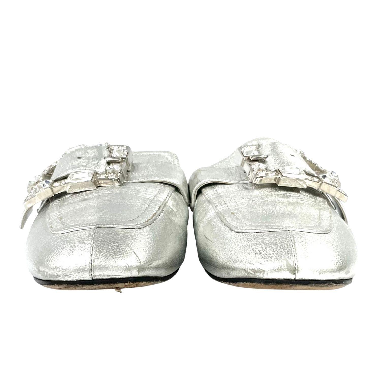 Sapato Prada Mule Pedrarias