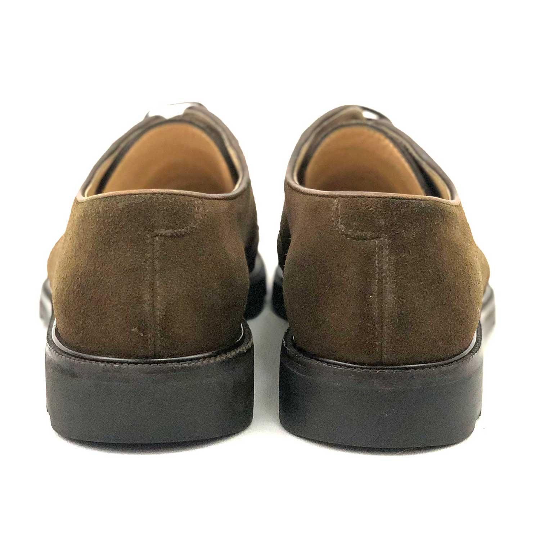 Sapato Salvatore Ferragamo Camurça Marrom