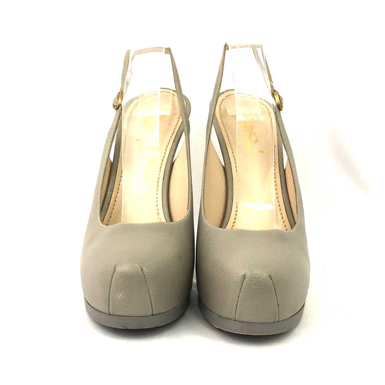 Sapato Scarpin Yves Saint Laurent TribToo Cinza