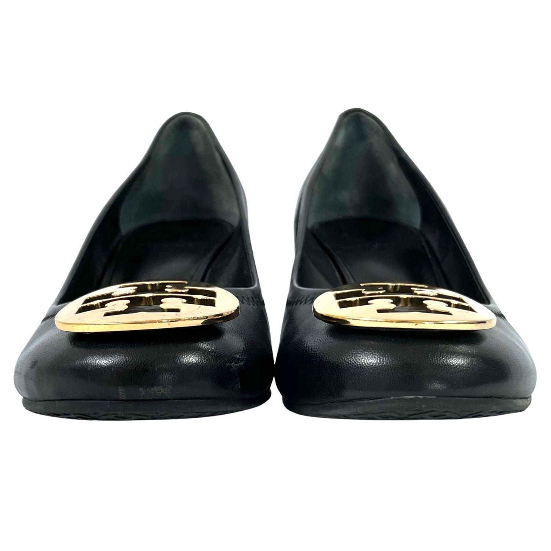 Sapato Tory Burch Logo Preto