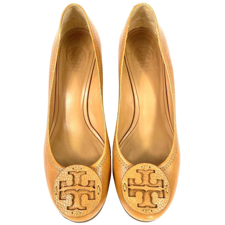 Sapato Tory Burch Sally Caramelo