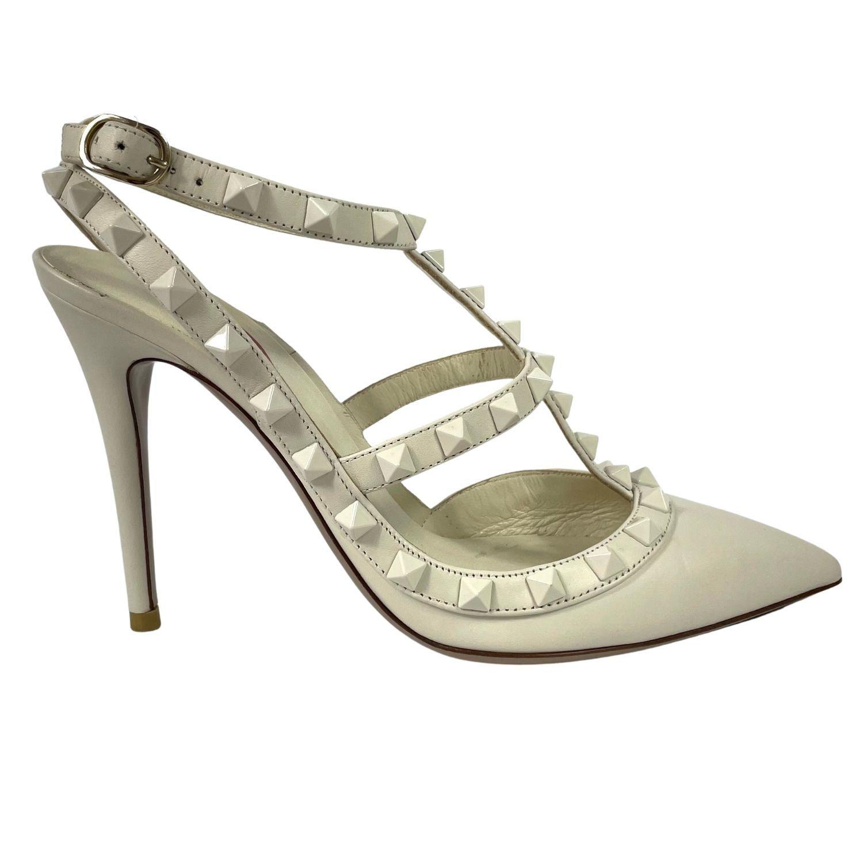 Sapato Valentino Noir Rockstud