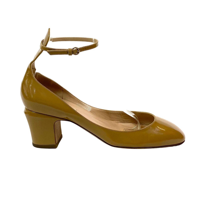 Sapato Valentino Verniz Areia
