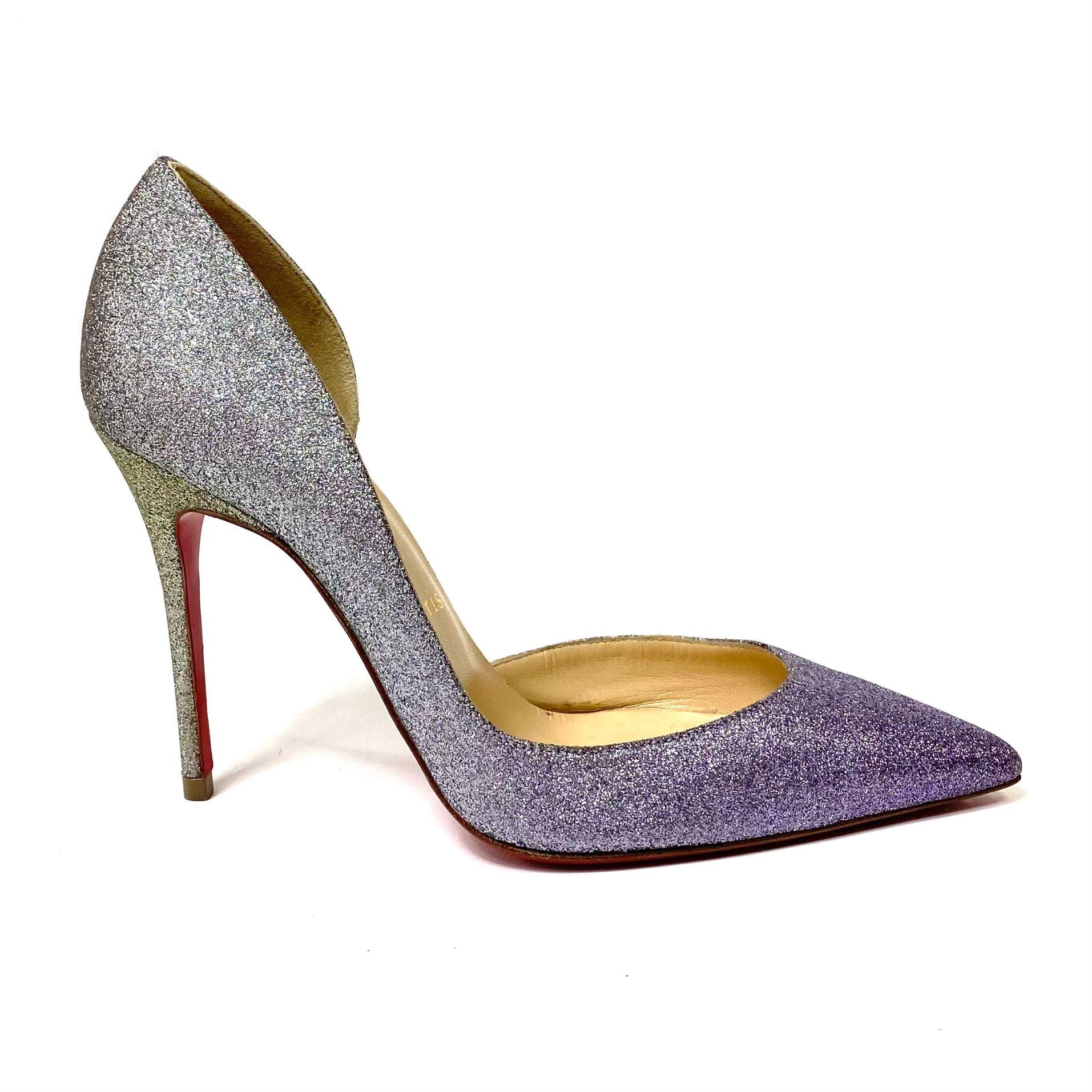 Scarpin Louboutin Iriza Degrade Glitter