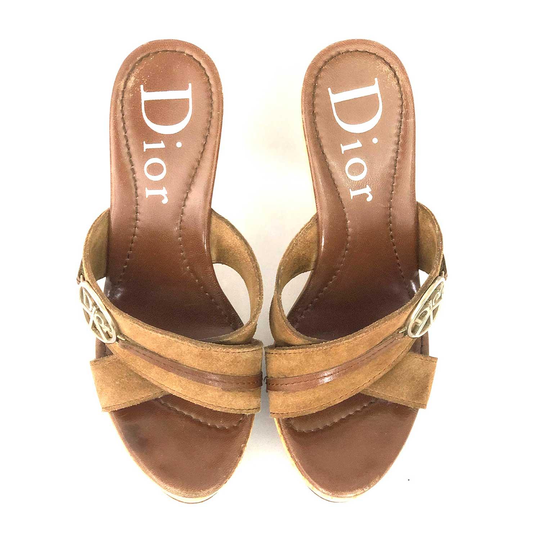 Tamanco Dior Marrom