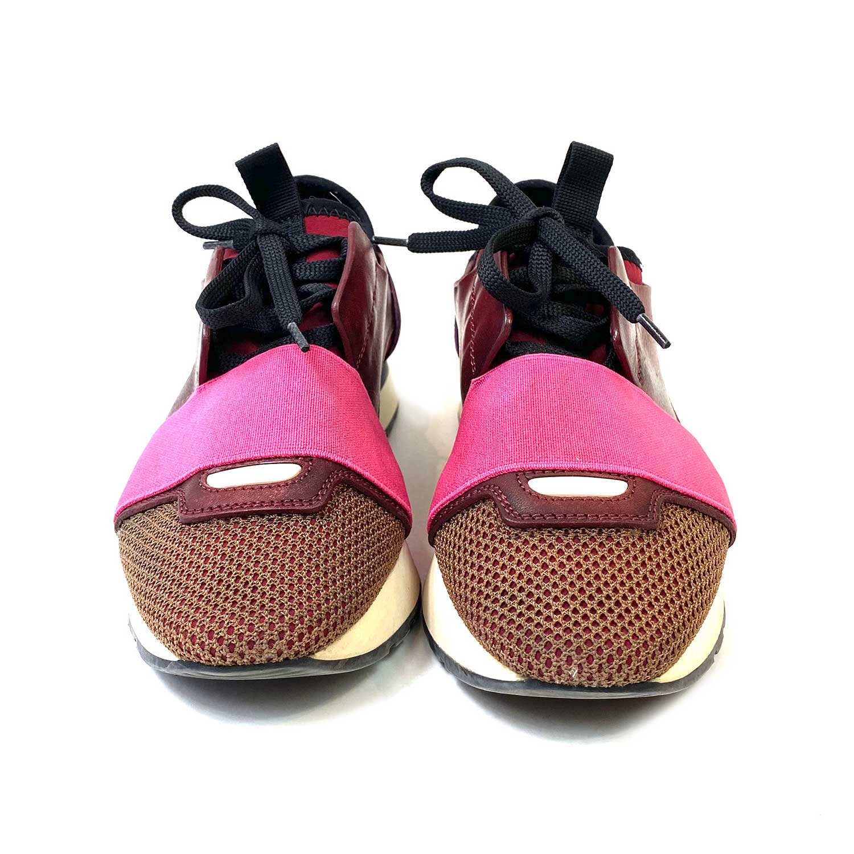 Tênis Balenciaga Race Runner Vinho e Pink